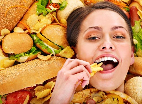závislost na jídle