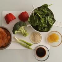 Večeře - krůtí Stir Fry s rýží