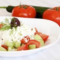 Šopský salát je zdravá a chutná báječně