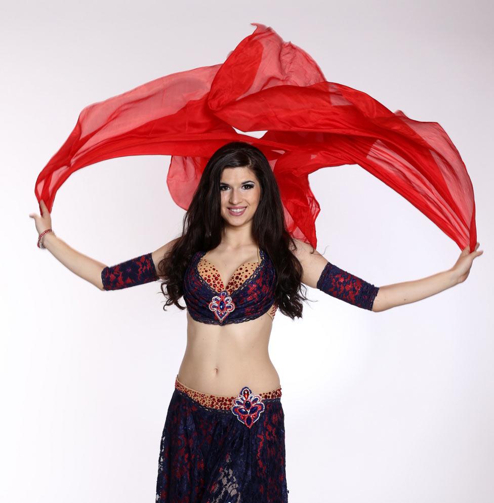 Lenka Badriyah Zychová: Orientální tanec pro zdraví a krásnou postavu