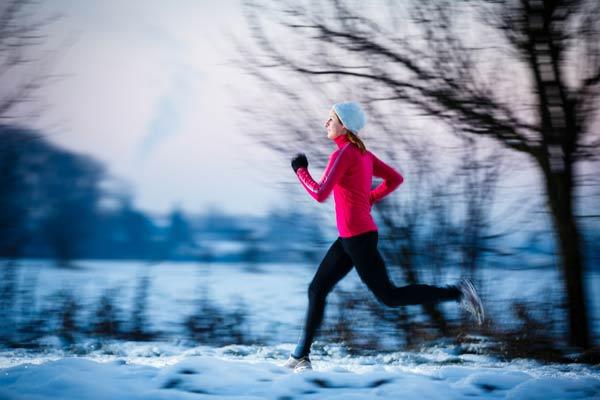 Eliška Růžičková: Běh v chladném počasí