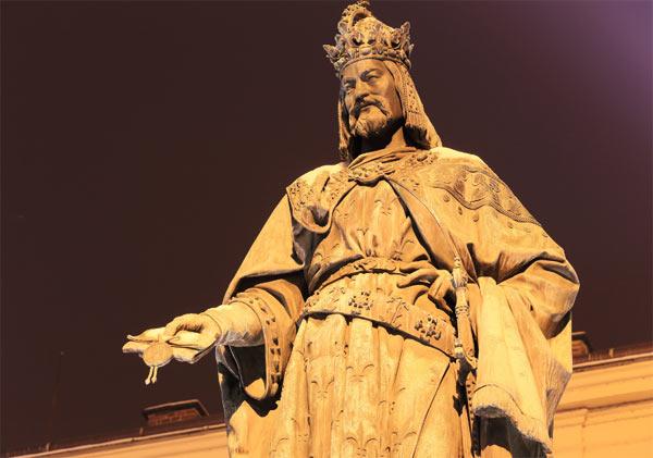 Co jedl Karel IV.?