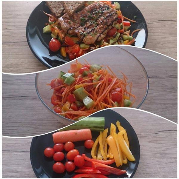 Denní menu s recepty podle Lucie Blechové, spoluautorky úspěšného článku o bazálním metabolismu a hubnutí bez jo-jo efektu