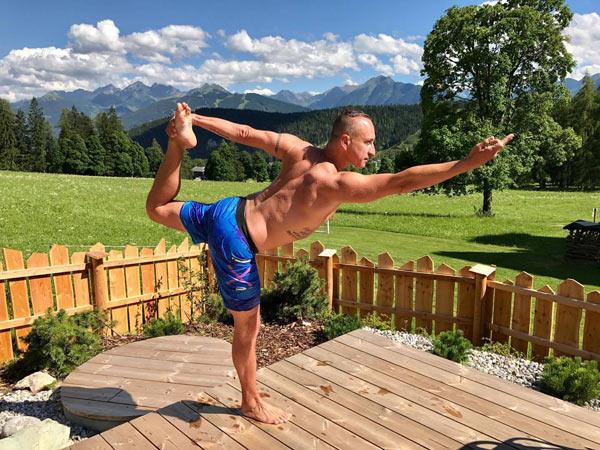 Václav Krejčík: Jóga vám pomůže zhubnout, nalézt životní rovnováhu a zmírnit řadu zdravotních problémů