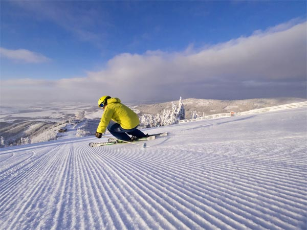 Zimní lavina zážitků horského resortu Dolní Morava