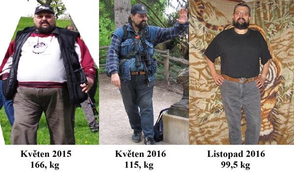 Jak zhubnul muž, který shodil 70 kg, tedy vlastně celého jednoho člověka?