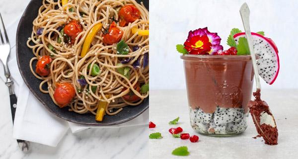 Recepty na špagety na seznamu a nízkotučnou čokoládovou pěnu najdete v  nové knize Najím se a zhubnu: Recepty na celý rok.