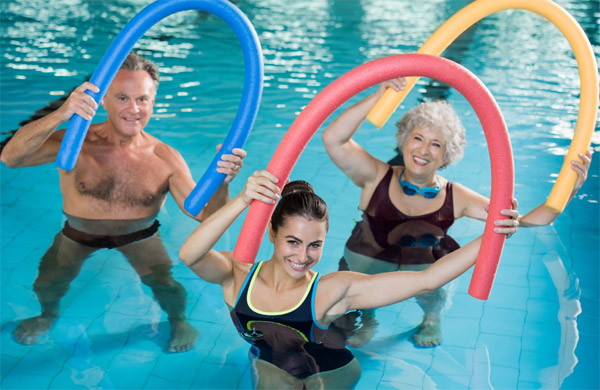Lucy Linn Fells: Proč zkusit cvičení ve vodě