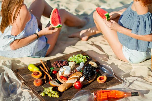 Využijte svou dovolenou k nastartování zdravého stravování