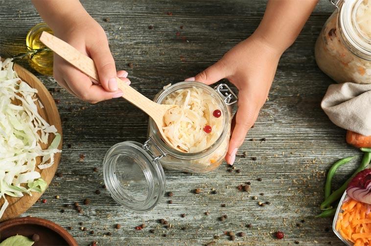 Kvašení potravin a hubnutí