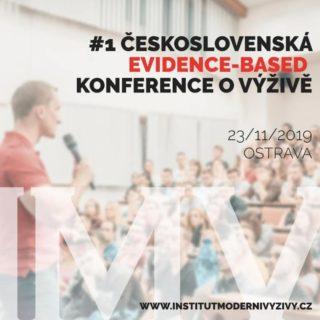 Pozvánka na 1. československou evidence-based konferenci o výživě