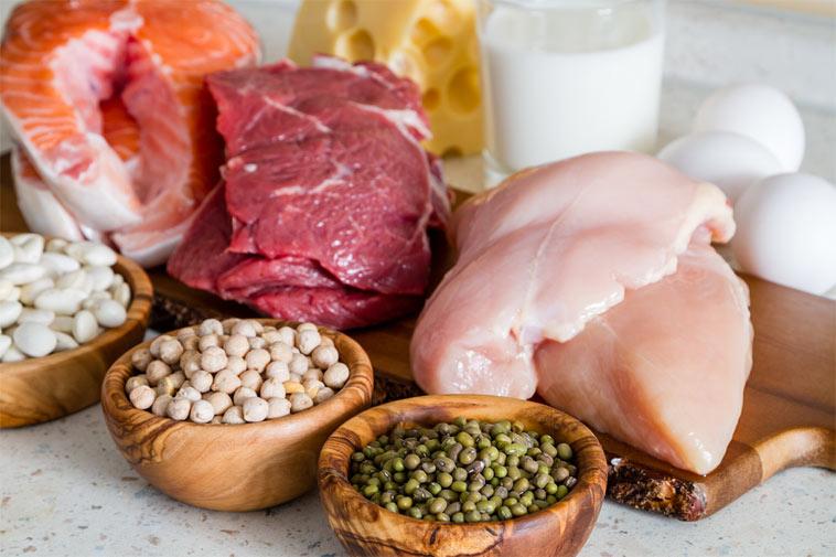 bílkoviny vám mohou pomoci při hubnutí