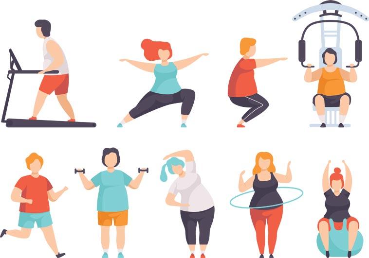 Studie prokázaly, že lidi s nadváhou, kteří pravidelně sporují, jsou mnohem zdravější než štíhlí nesportovci.