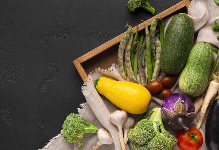 Jak skladovat zeleninu v bytě