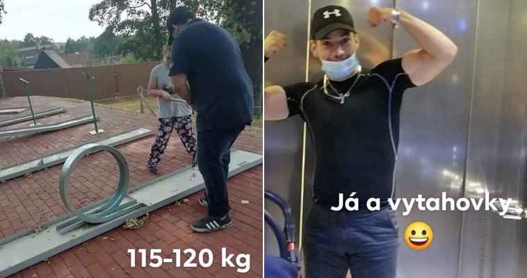Martin Jaroš - jak zhubnul a uzdravil se