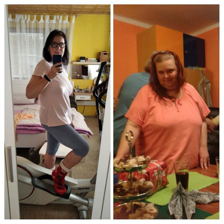 """Přečtěte si příběh paní Renaty, která se za 15 měsíců z váhy 151 kg dle vlastních slov """"projedla"""" na současných 72 kg!"""