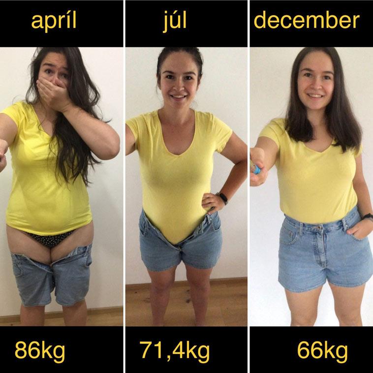 Jak paní Zuzana zhubla dvacet kilo za necelý rok