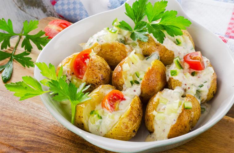 brambory mají téměř stejné množství sacharidů jako luštěniny