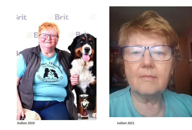 Jak zhubla paní Jaromíra (68 let) s Kalorickými Tabulkami