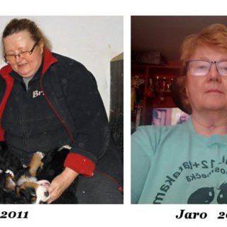 Podívejte se, jak dokázala zhubnout paní Jaromíra (68 let)